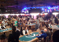 Just before the start of Day 1a at the 2011 WSOP Main Event