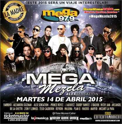 MEGA MEZCLA!! MADISON 14 DE ABRIL