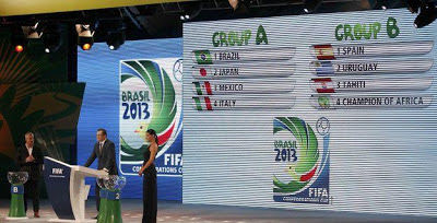 Jadwal Piala Konfederasi Brasil 2013