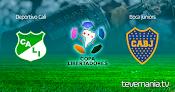 Deportivo Cali vs Boca Jr en Vivo - Copa Libertadores