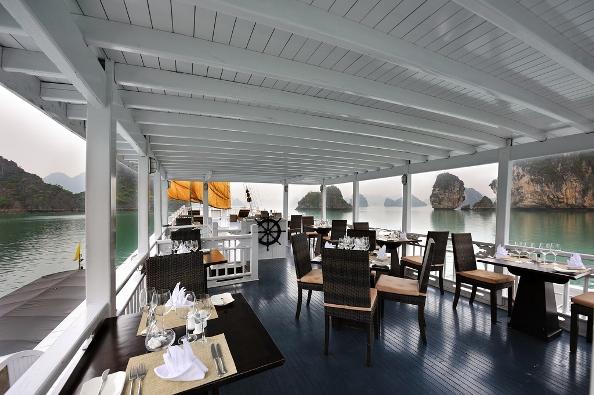 Outside Restaurant - Paradise Luxury Cruise