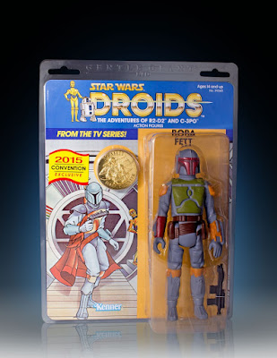 "San Diego Comic-Con 2015 Exclusive ""Droids"" Animated Boba Fett 12"" Jumbo Vintage Kenner Star Wars Action Figure by Gentle Giant"