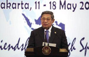 Pembukaan CISM oleh SBY