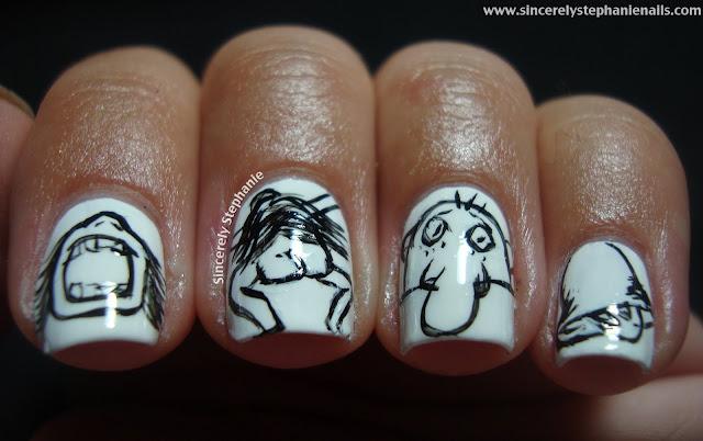shel silverstein nail art