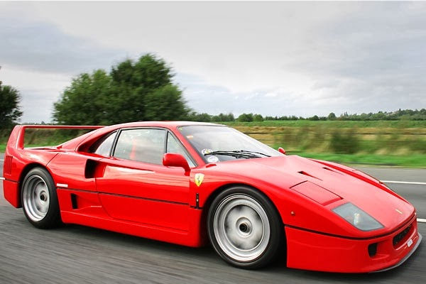 Ferrari F40 Car Pictures