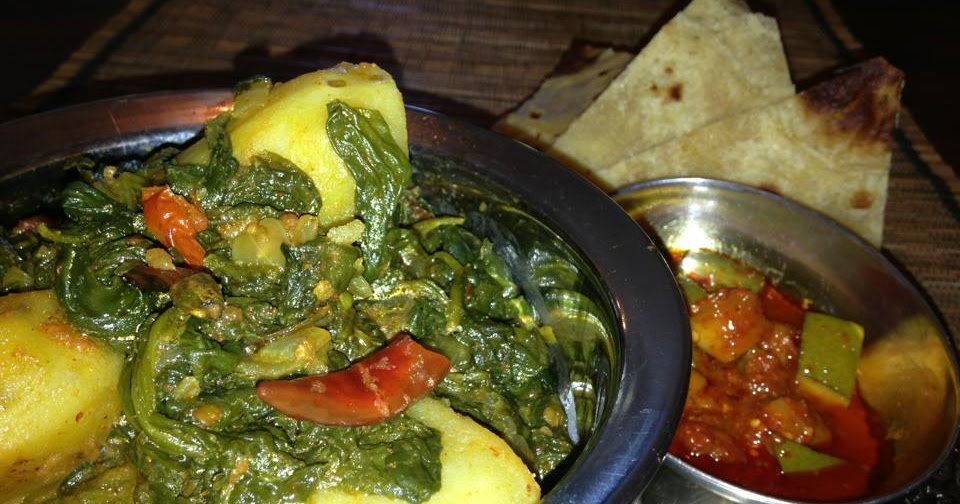 Seasoned Skillet: Spinach & Potato Curry