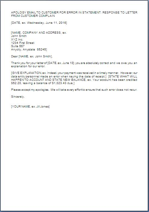 sample template example of apology letter format sample in word doc