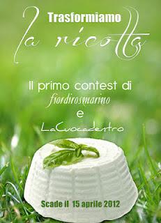 Contest: TRASFORMIAMO LA RICOTTA