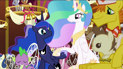 Celestia and Luna at the wedding