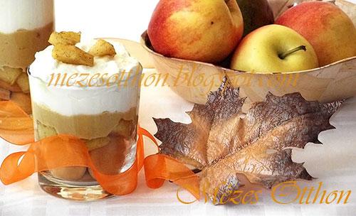 alma-karamell trifle fotó
