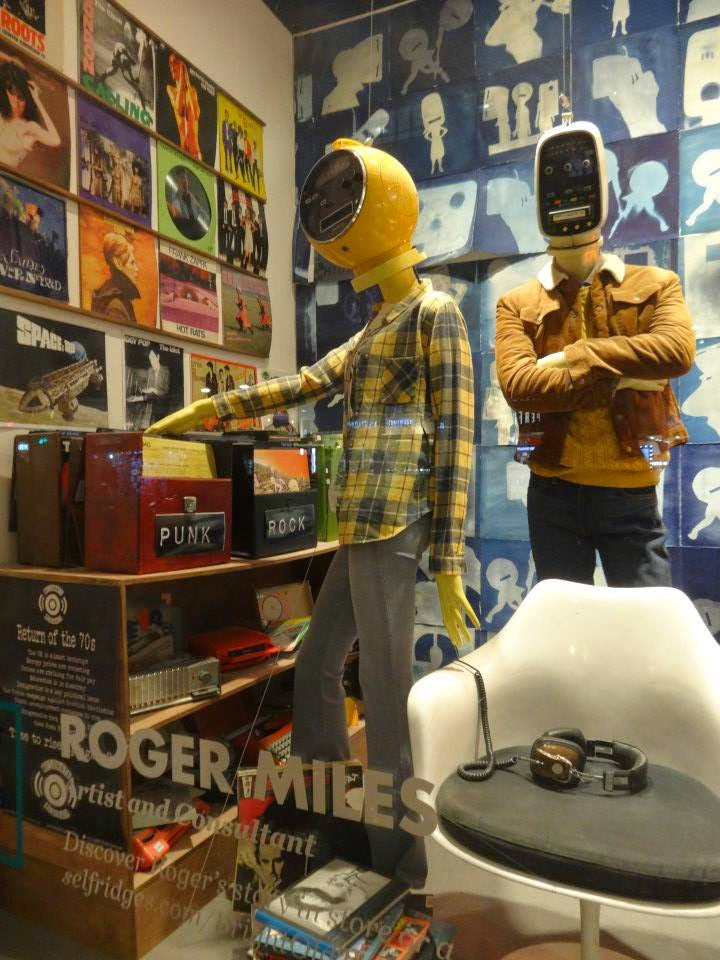 Selfridges Shopwindow Bright Old Things 2015 Roger Miles