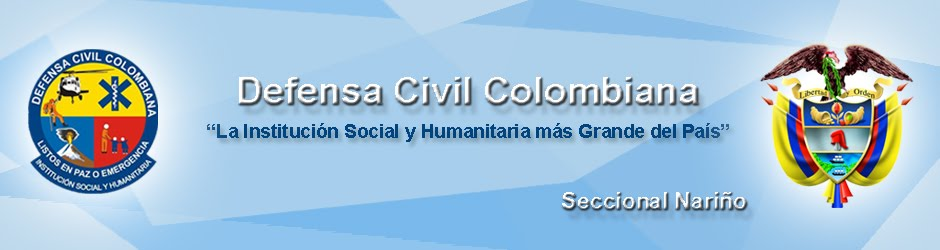 DEFENSA CIVIL COLOMBIANA Seccional Nariño