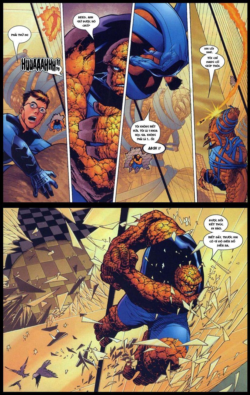 Ultimate Fantastic Four chap 5 - Trang 10