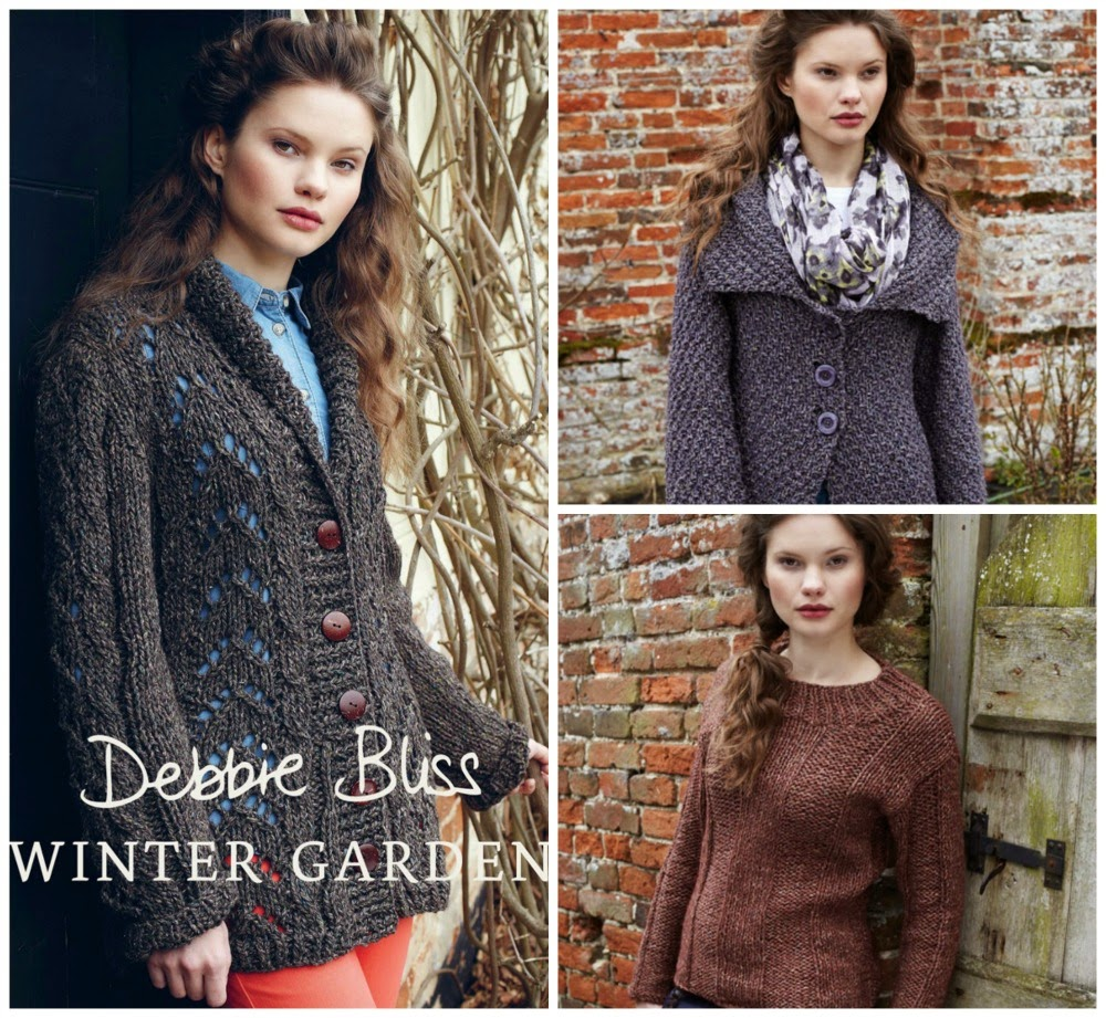 the woolly brew debbie bliss winter garden now half price