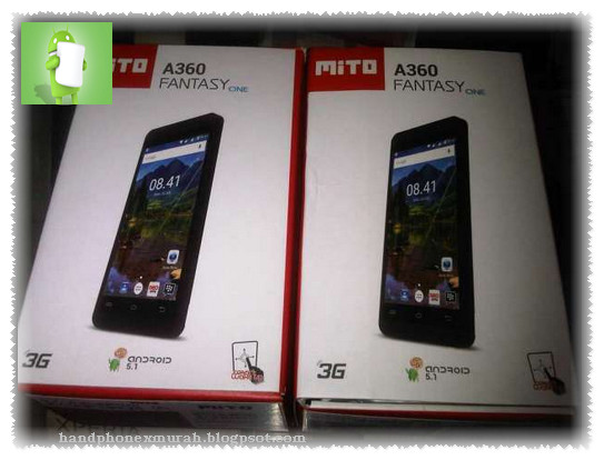 Mito A360 Fantasy One - HP Lollipop 700 Ribuan Ram 1 GB