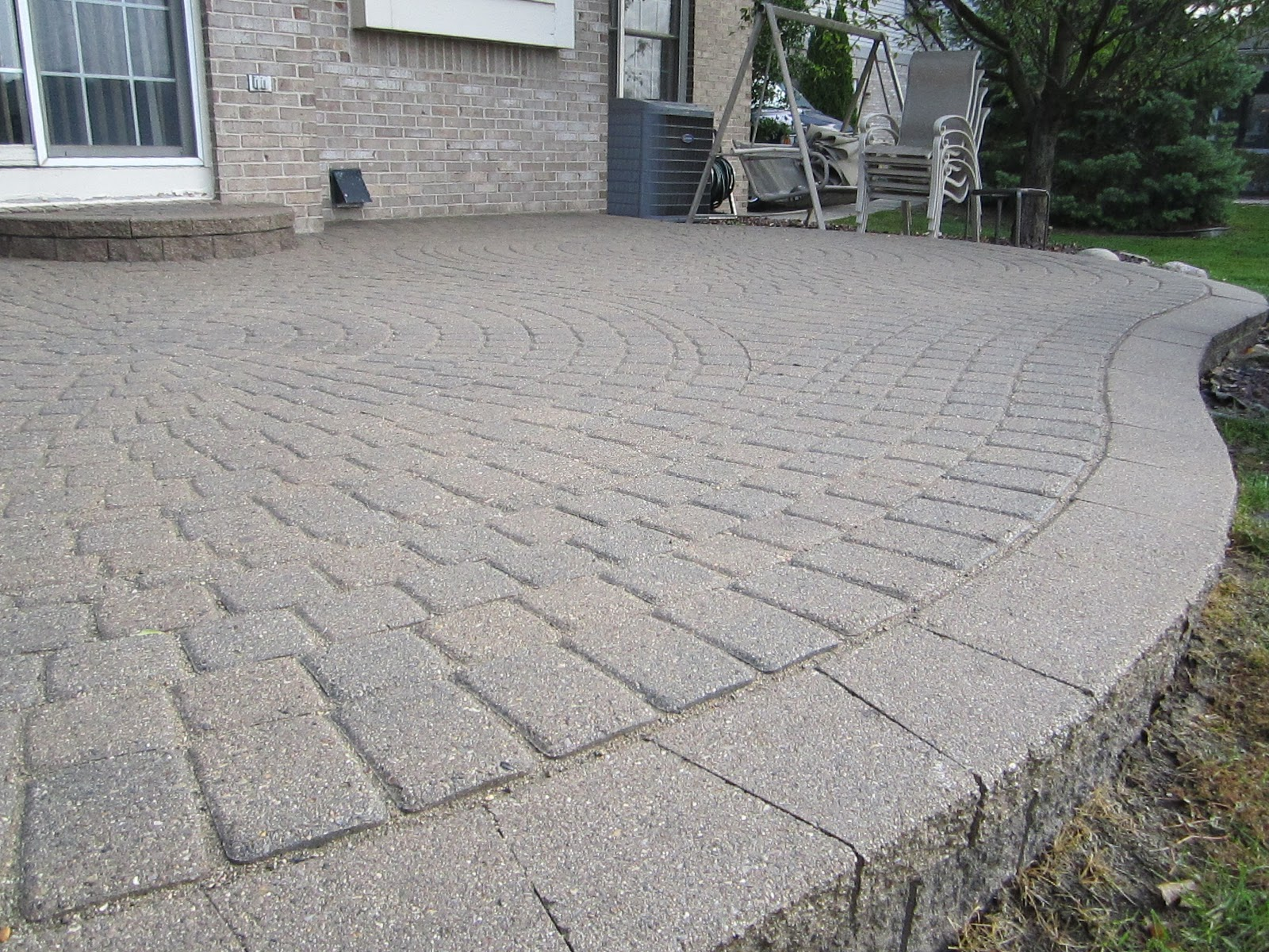 After 13 Years, This Raised Paver Patio Needed Some Repair U0026 Restoration