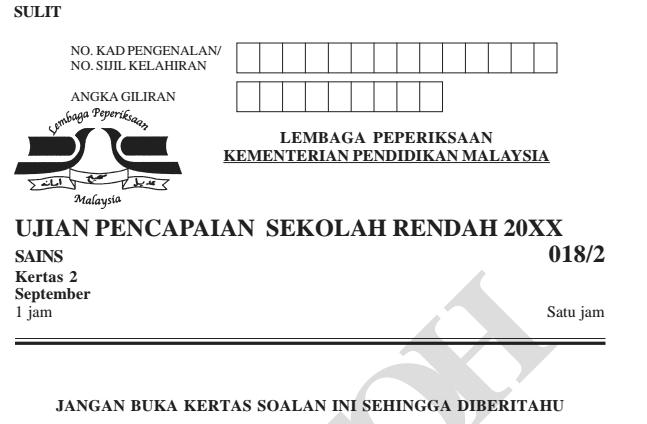 Lembaga Peperiksaan Malaysia Contoh Soalan Pt3 2019 Kosong Kerje