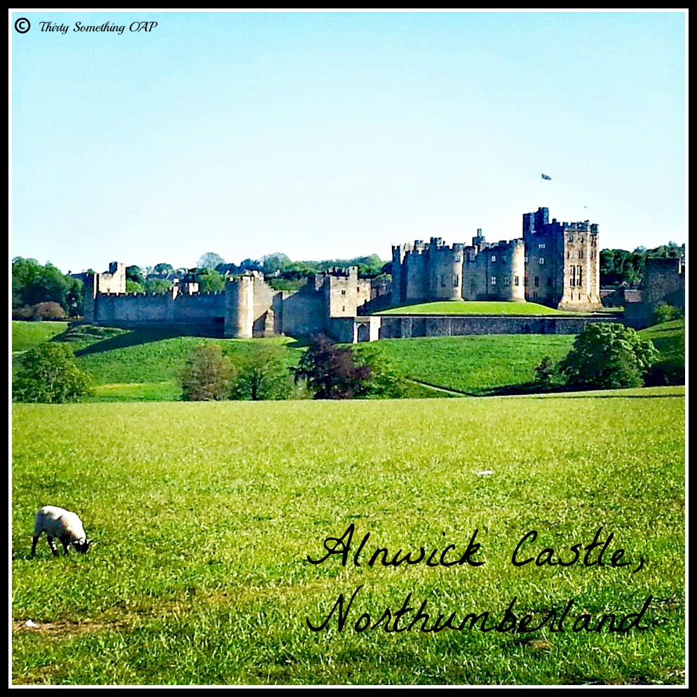 ALNWICK CASTLE, ALNWICK, NORTHUMBERLAND, HARRY POTTER