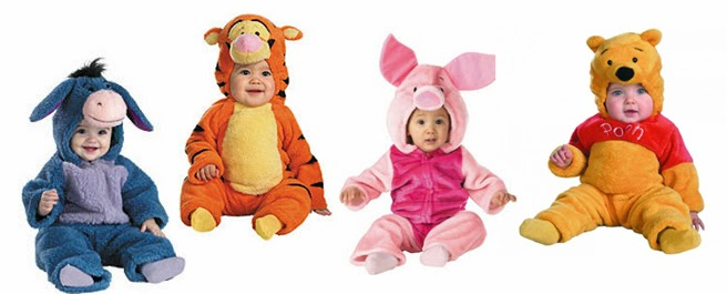 Winnie the Pooh  sc 1 st  amirmu & Dress your baby up for Halloween as your favorite Disney or Star ...