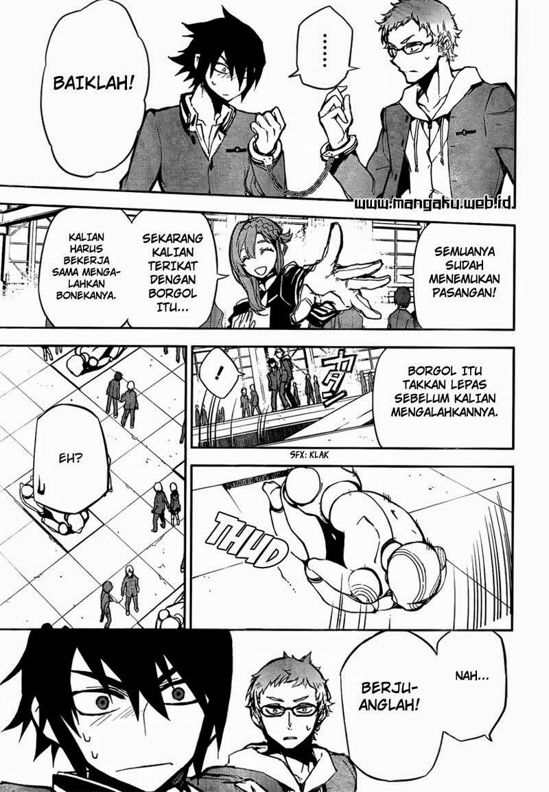 Owari no Seraph Chapter 4-34
