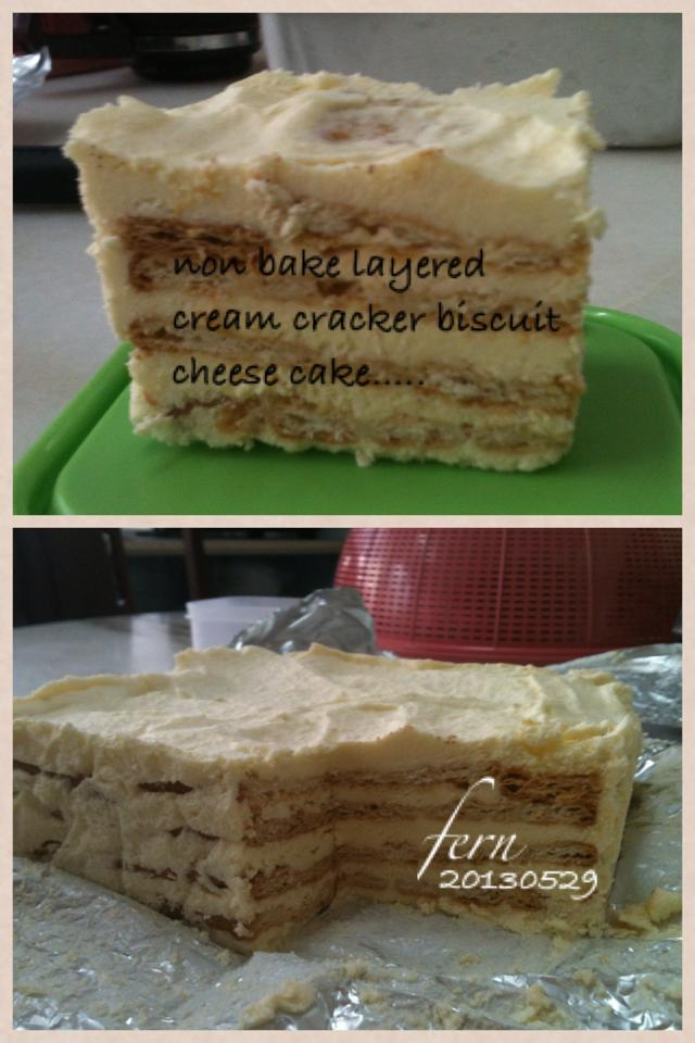 A learning mum's blog...: layered cream cracker biscuit ...
