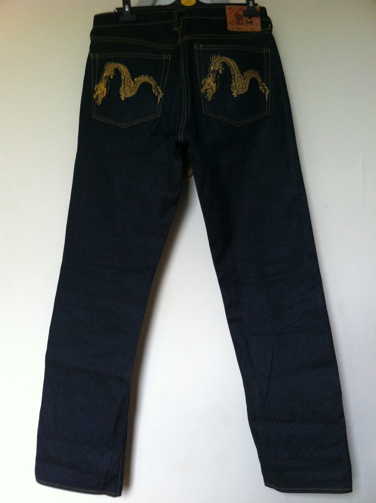 azim wiganuk bundle brand new evisu jeans gold dragon