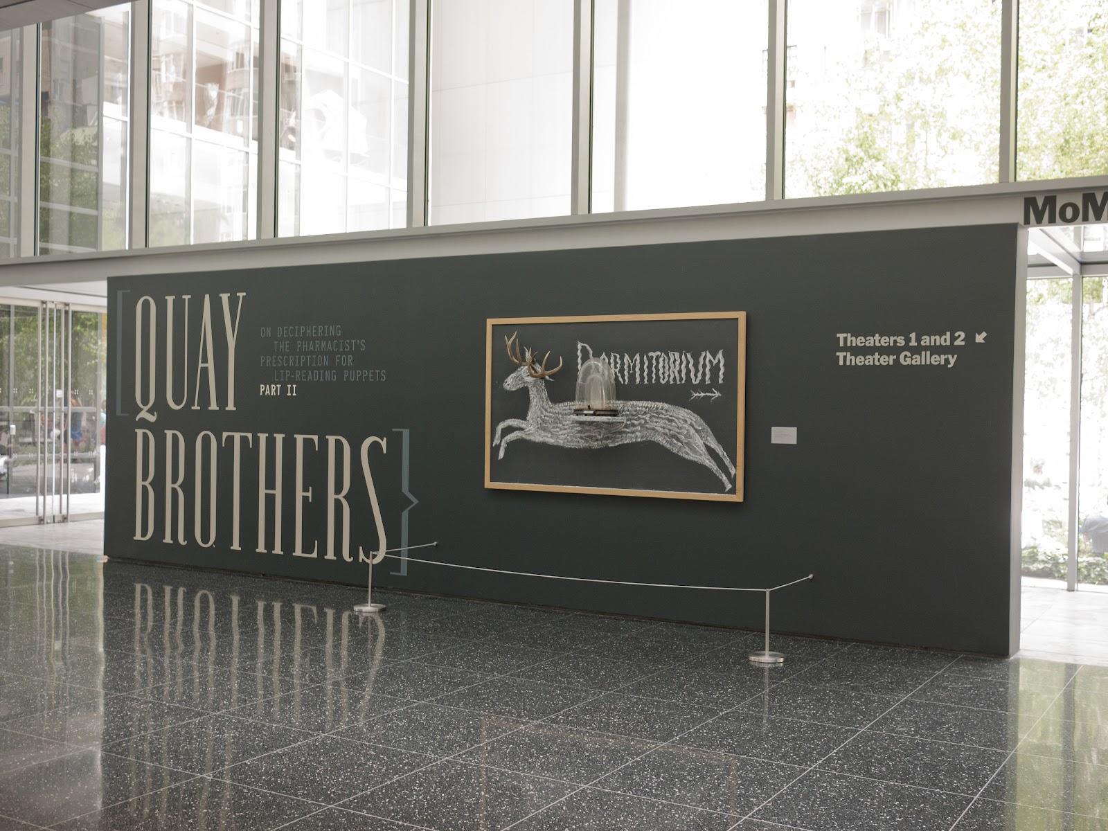 Morbid Anatomy Quay Brothers Retrospective In New York City On