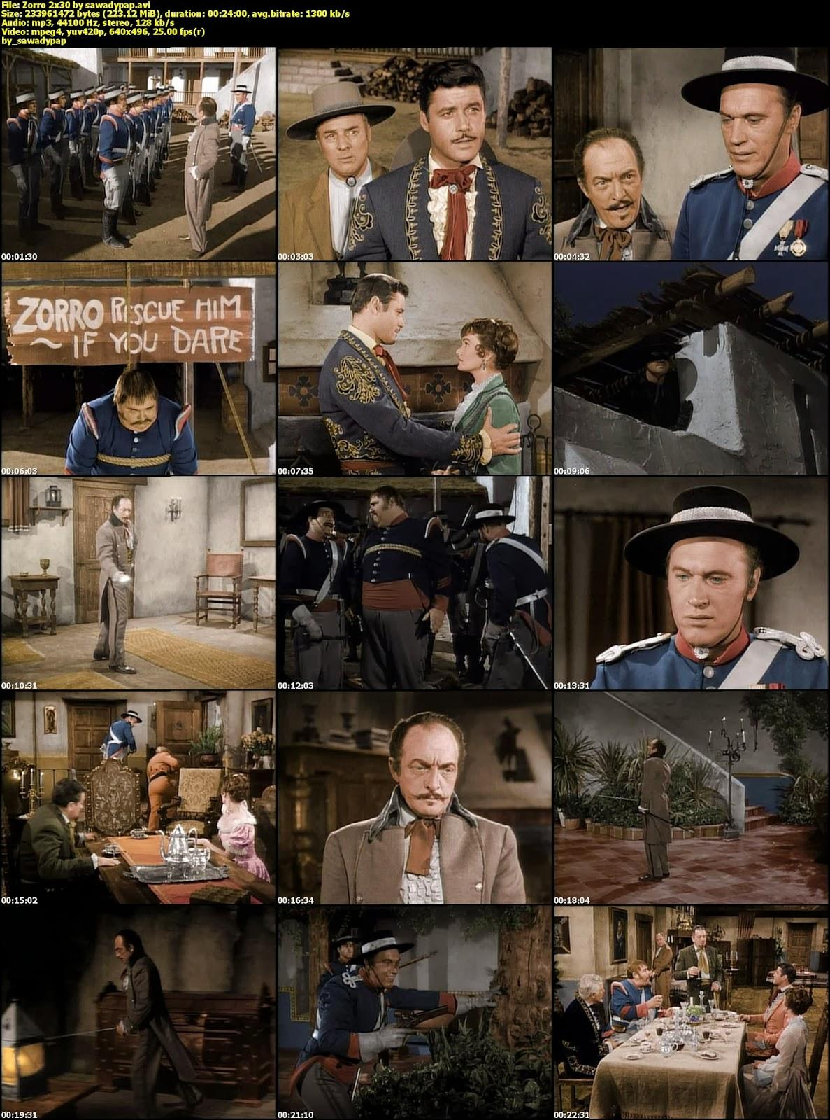 El Zorro [2° Temporada][DVDRip][Latino]