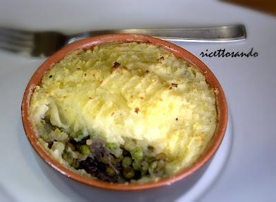 Pasticcio di carne o Shepherd's pie ricetta piatti unici