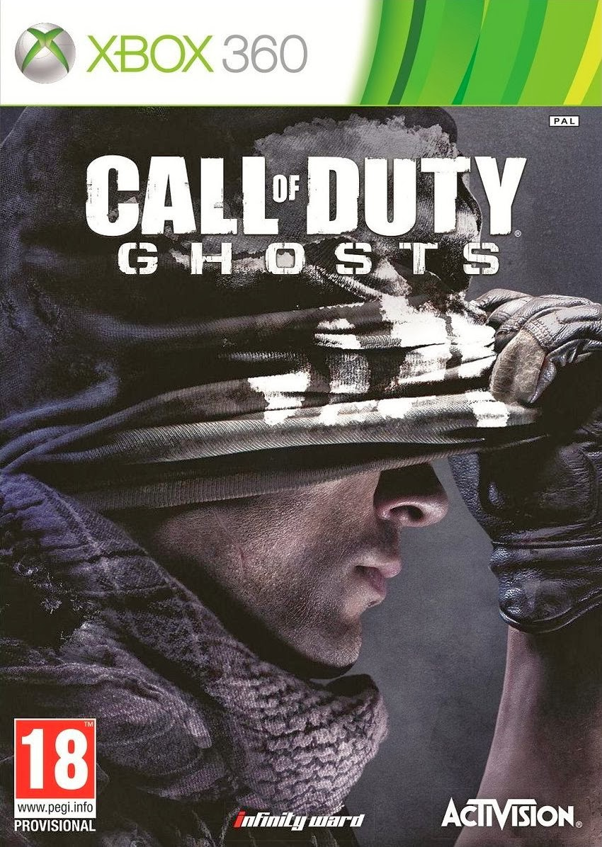 GHOST Download   Jogo Call of Duty: Ghosts XBOX360   REGION FREE PT BR (2013)