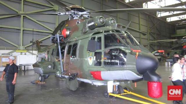 PTDI Pamerkan EC725, Pesaing Helikopter VVIP Pilihan TNI
