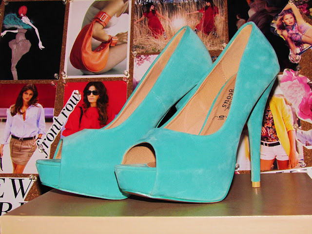 New Look Tourqouise Heels