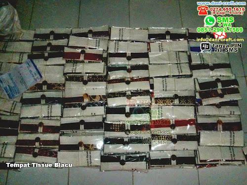 Tempat Tissue Blacu Batik Jogja