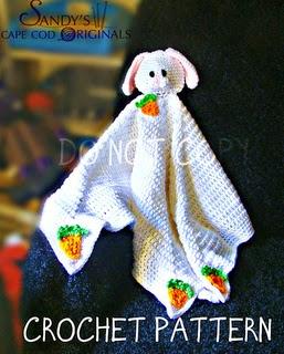 Free Bunny Lovey crochet pattern