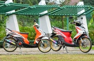Foto Modifikasi Honda Beat Sporty Keren Terbaru