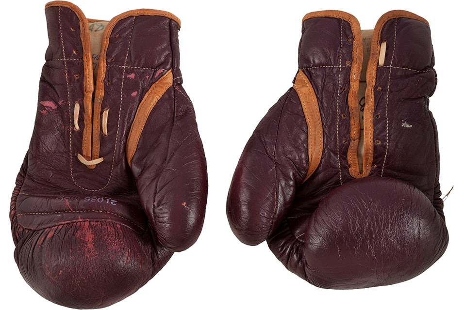 Old Gloves sell for $388,975