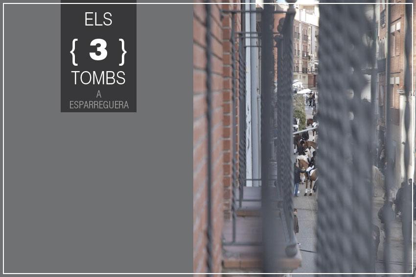 Comencem l'últim diumenge de gener amb el repic de cascavells i tambors i trompetes a la Festa dels 3 tombs a Esparreguera. Fotografia ©Imma Mestre Cunillera