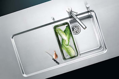 modern kitchen sink design -stainless steel