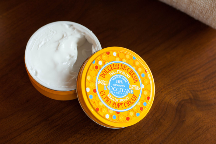 l'Occitane melting honey soft cream review