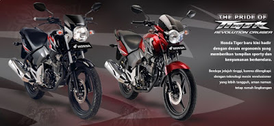 Honda Tiger New Revolution Cruiser