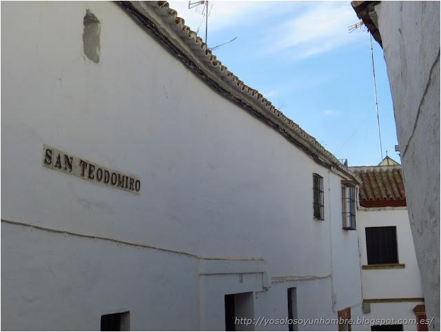 Calle andaluza dedicada al santo