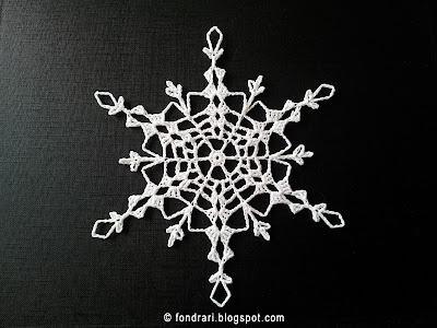 Golden Anniversary Snowflake