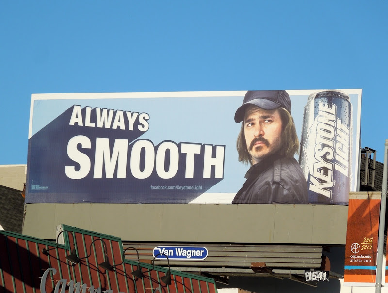 Always Smooth Keystone Light beer billboard