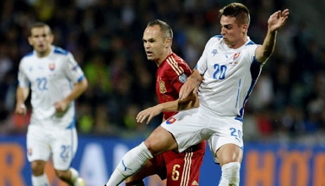 España vs Eslovaquia en vivo