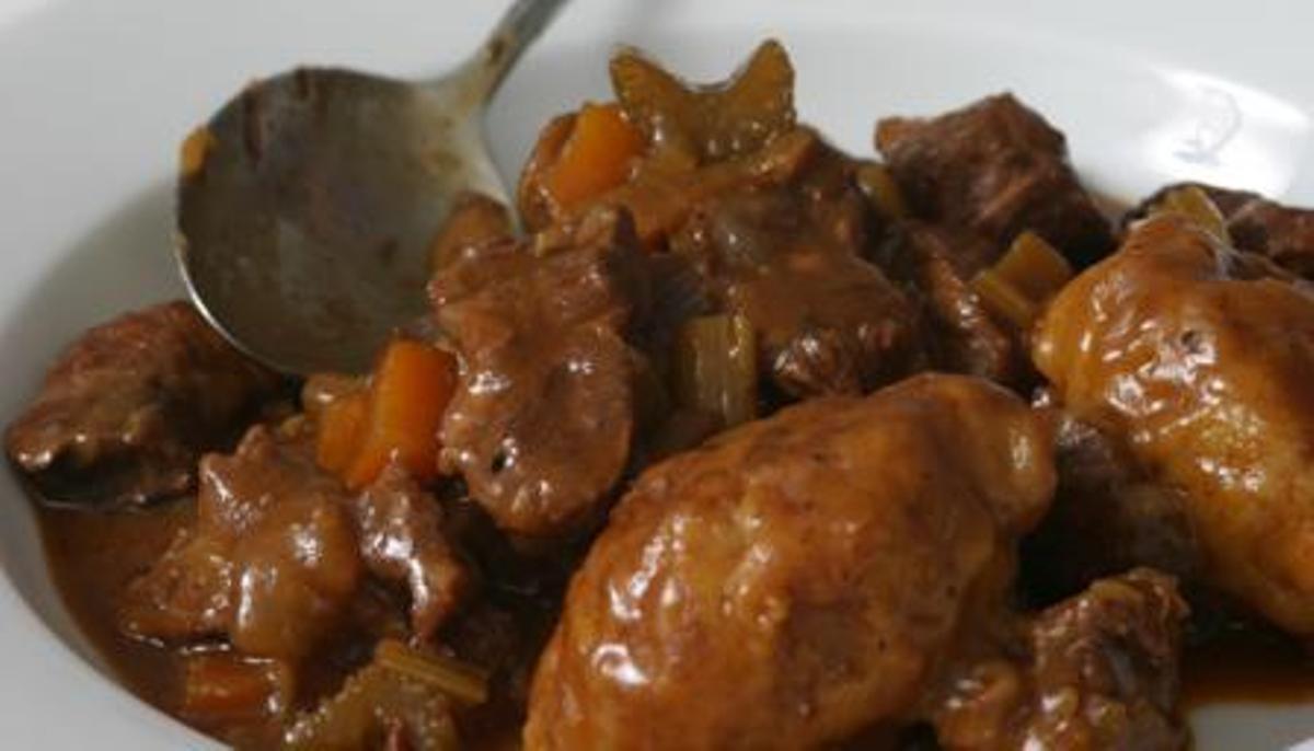 Skynet Stew With Dumplings DumplingsWorldwide
