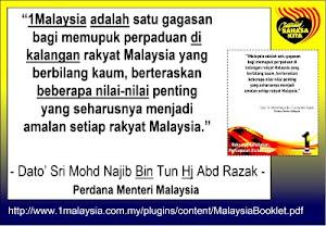 GAGASAN SATU MALAYSIA