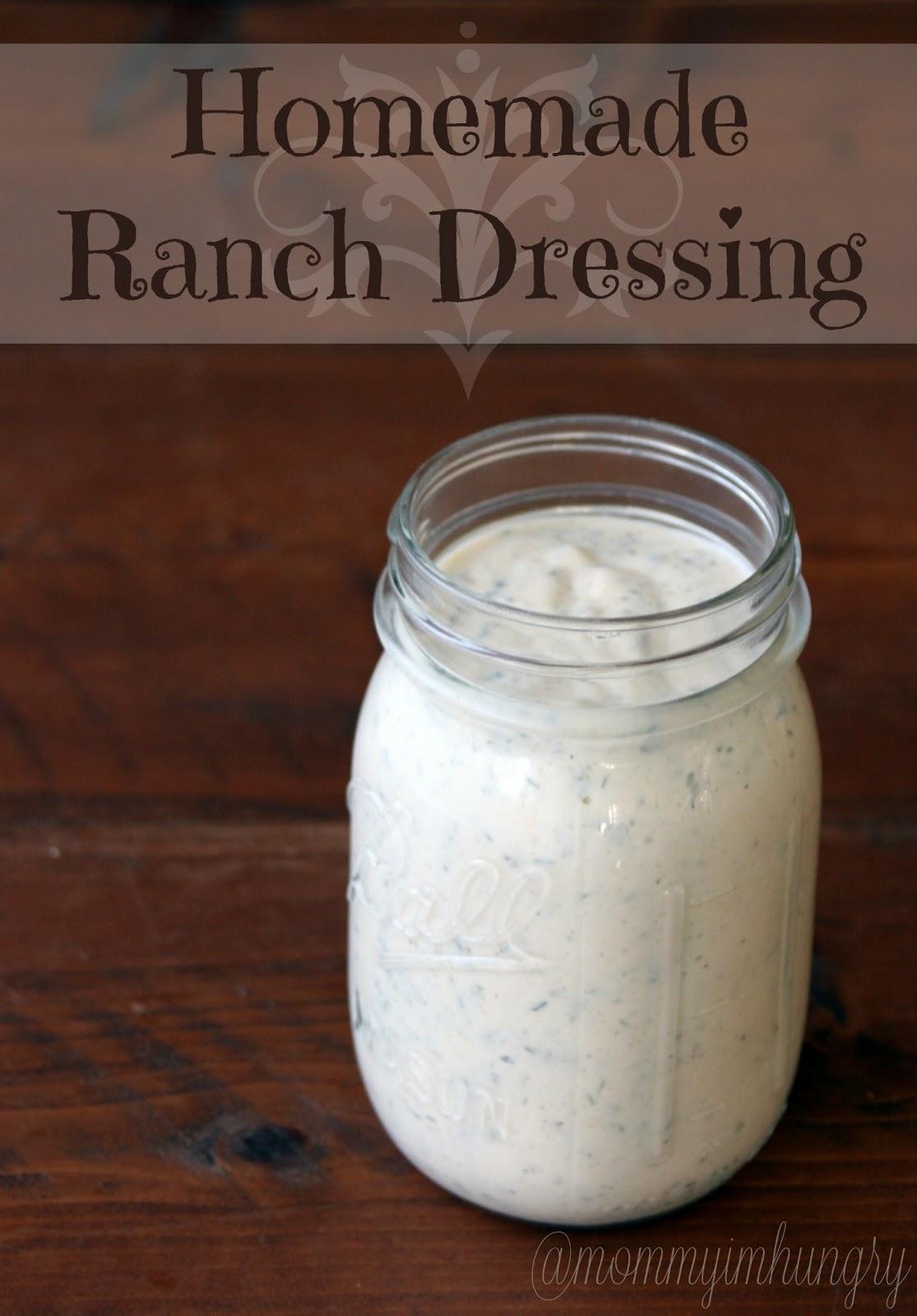 MIH Recipe Blog: Homemade Ranch Dressing