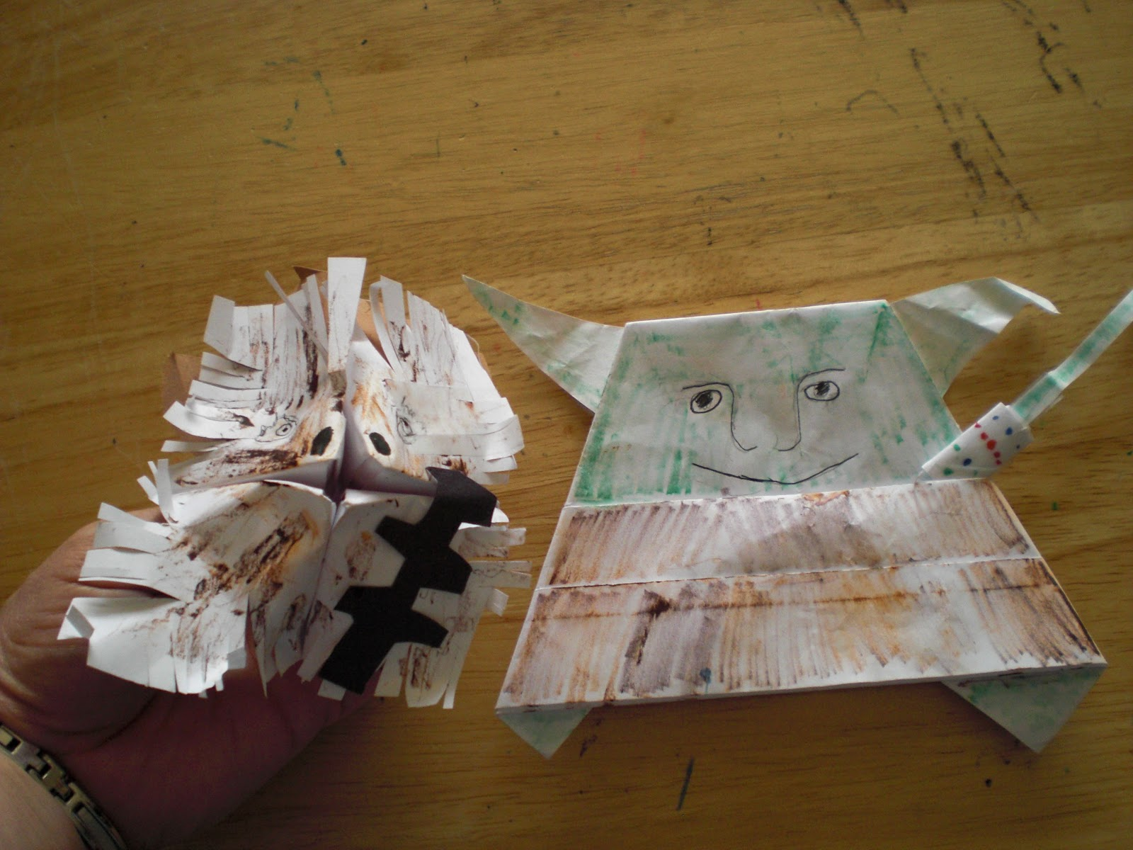 Of Books and Boys: Trevor's Origami Yoda Collection - photo#48