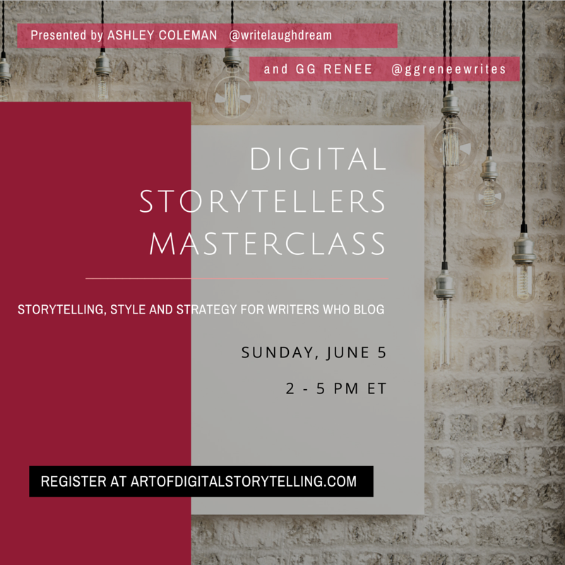 MASTERCLASS FOR WRITERS WHO BLOG
