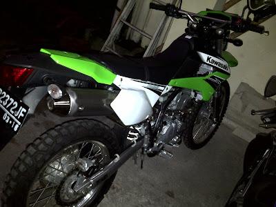 Modifikasi Kawasaki KLX 250 2012 - Gambar Modifikasi Motor Terbaru